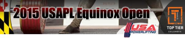 2015 USAPL Equinox Open